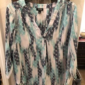 Ana size large tunic/blouse